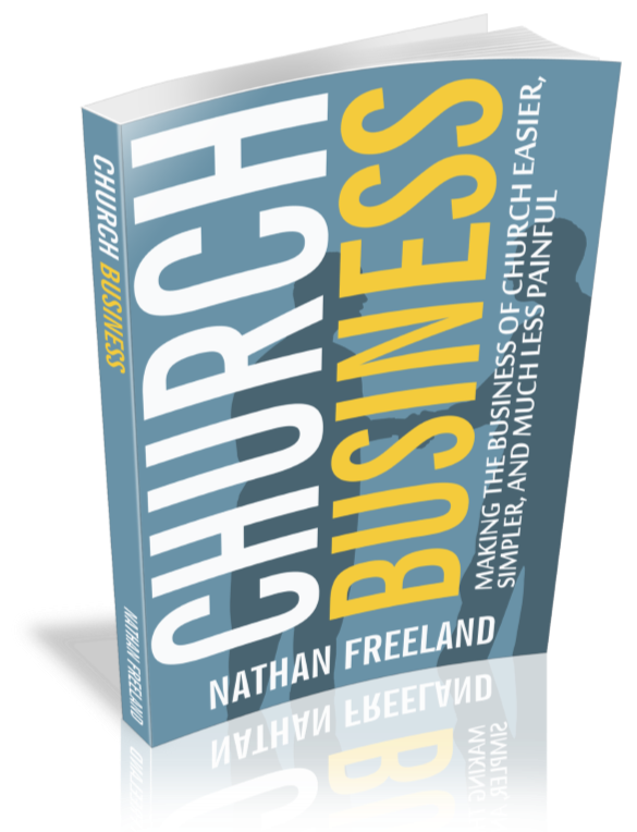 Cover of Church Business book.
